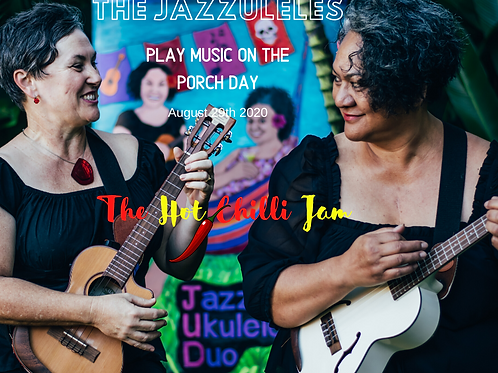 Part 1 - New Zealand: The Jazzuleles Play Music On The Porch Day