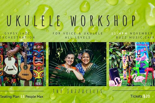 Gypsy Jazz Workshop for Voice & Ukulele