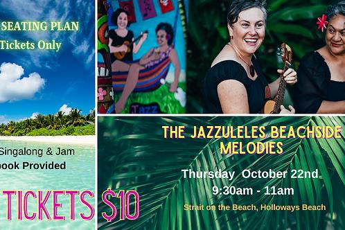 The Jazzuleles Beachside Melodies