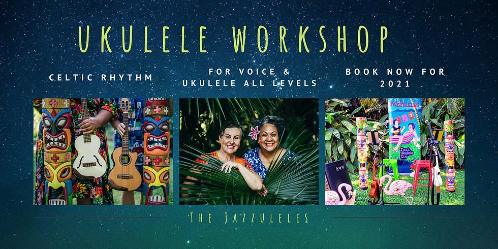 Workshop for Voice & Ukulele | Celtic Rhythms
