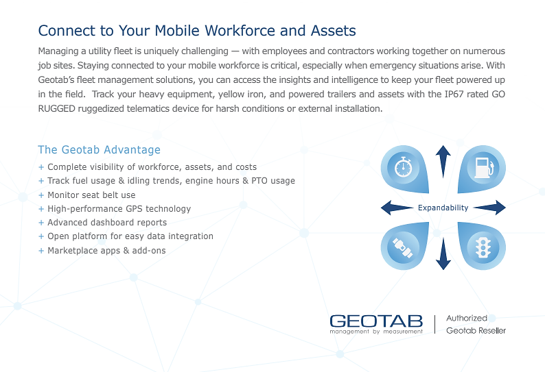 Connect to Your Mobile Workforce & Assets