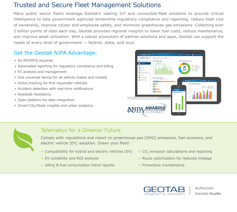 Trusted & Secure Fleet Management Solutions