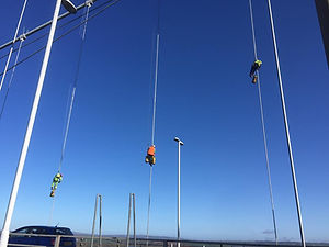 Paintel Rope Access team