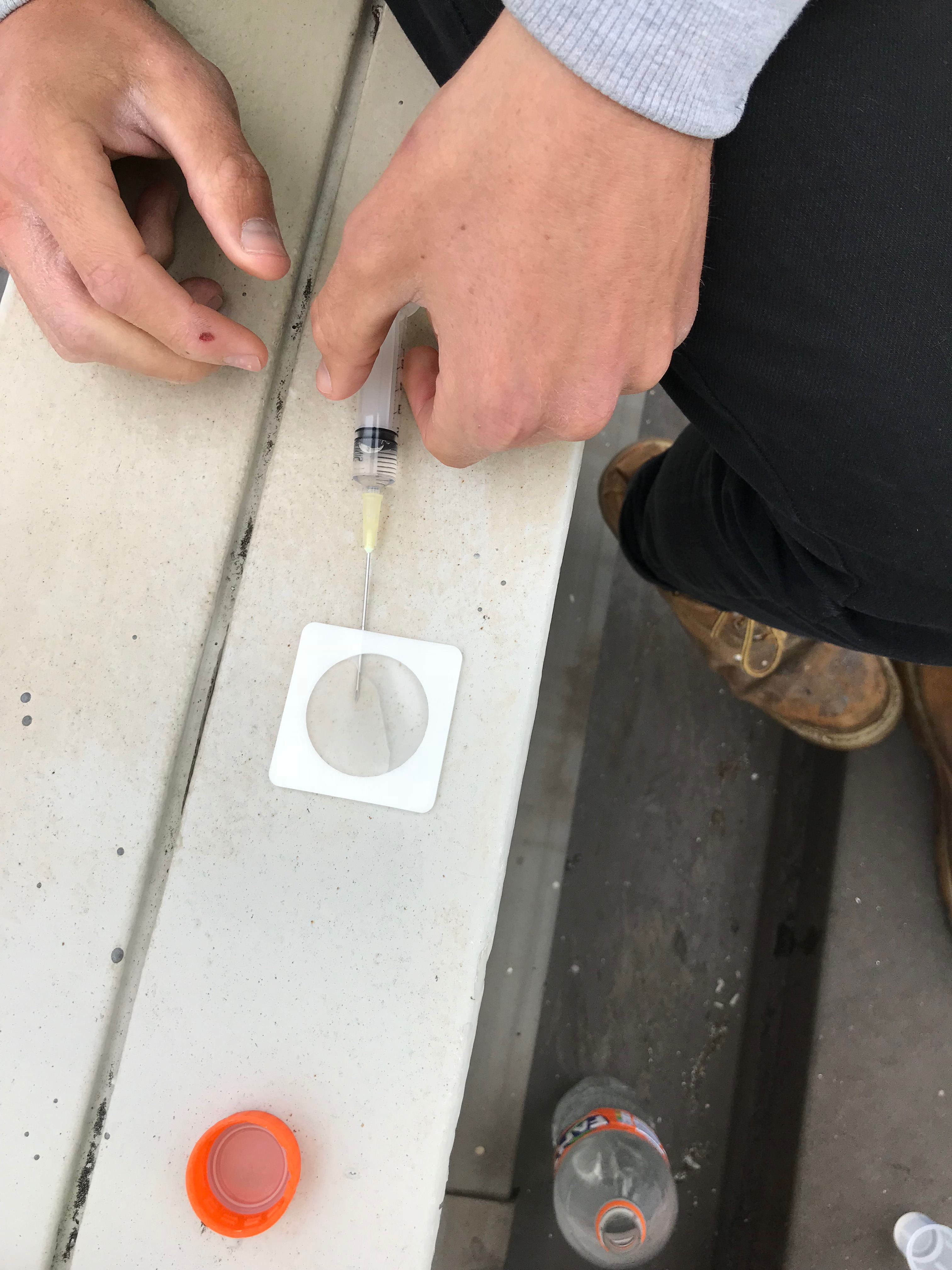 Salt testing