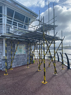 Torpoint Tower Scaffold 1