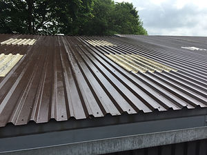 Roof cladding paint