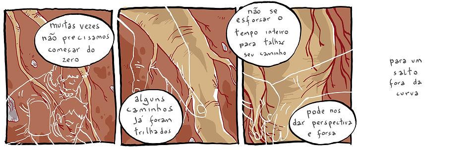terceira tira da série, publicada em 14 de fevereio