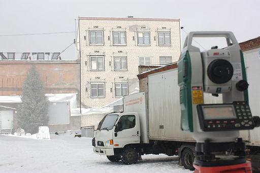 Фасад, Геодезия, Обнинск