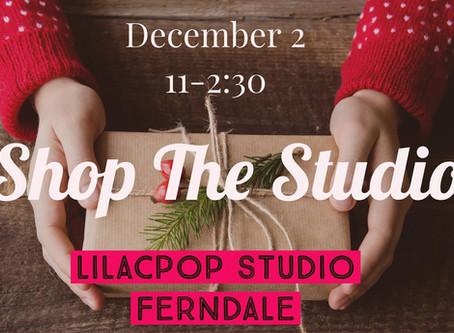 Shop The Studio This Saturday!