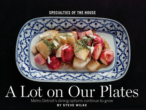 Food and Drink Photography by Janna Coumoundouros for Hour Detroit Magazine