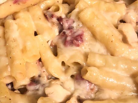 Super Easy Chicken Cordon Bleu-ish Casserole
