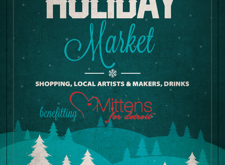 Holiday Market at The Conserva Ferndale December 17