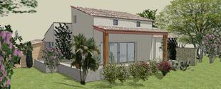 Agrandissement maison St Côme (30870)