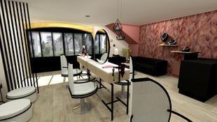 Rénovation salon de coiffure Chazay (69380)