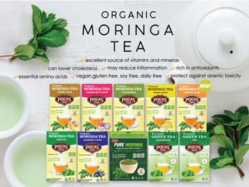 Organic Moringa Tea & Powder