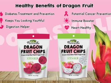 Pocasville Dragon Fruit Chips