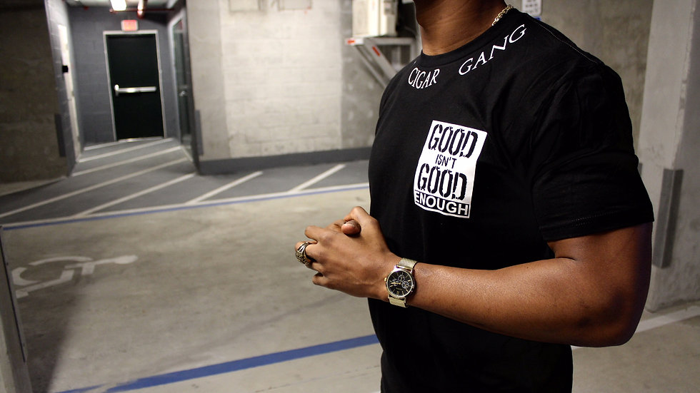 Good Isn't Good Enough T-Shirt (White & Black)