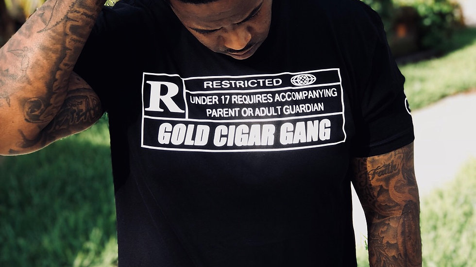 Rated R T-Shirt (Black&White)