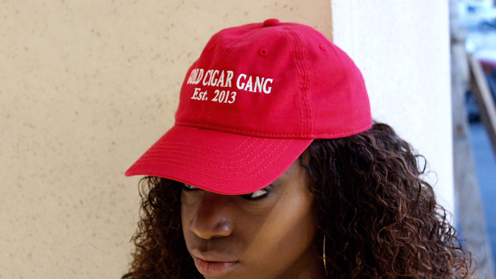 GCG Est.2013 Hat (Red & White)