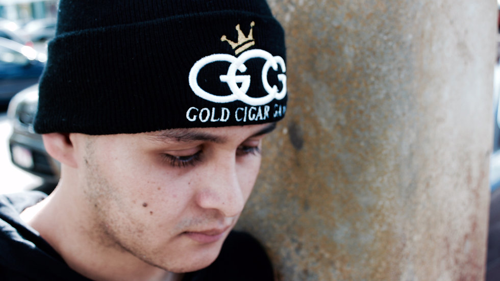 GCG Skully (Black,Gold & White)