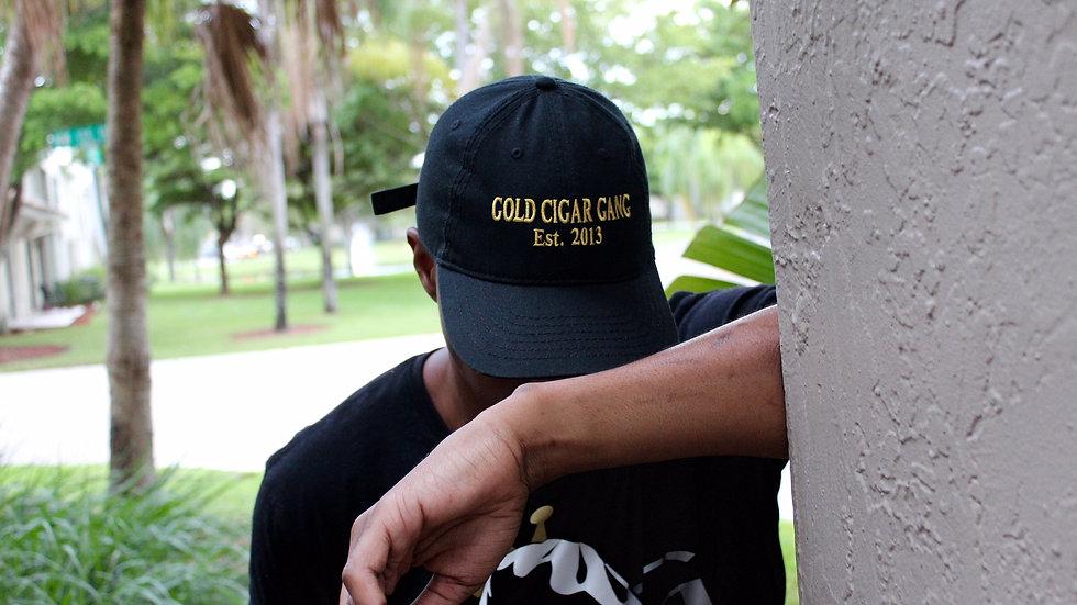 GCG Est.2013 Hat (Black & Gold)