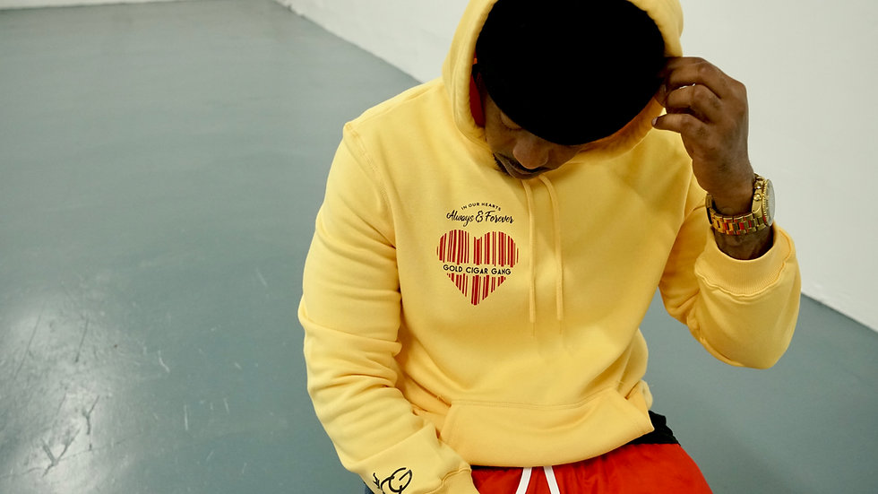 Always In Our Hearts (Hoodie) Yellow