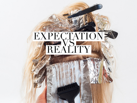 Expectation Vs. Reality - What clients need to know...