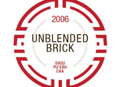 2006 Zen Brick Pu'erh Cha (Shou)