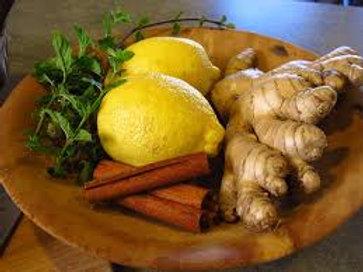 Palm Free Lemon & Ginger Bar Soap