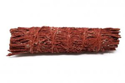 Red Smudge Sage 4 Inch