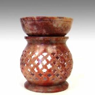"4"" Soap Stone Aroma Lamp"