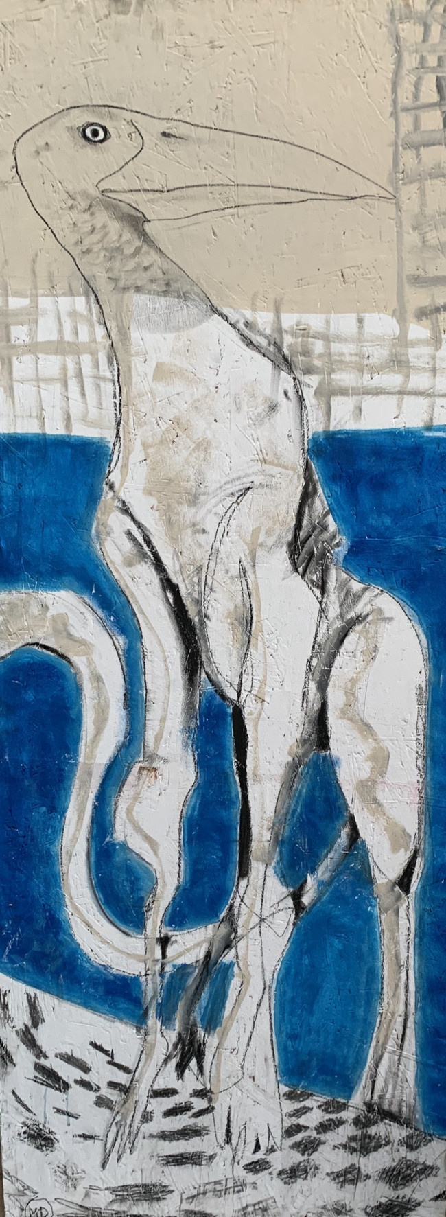 """untitled""(68x160cm)"