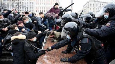 Russian Protests Continue