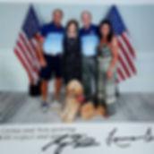Meli and Family with President Bush.jpg