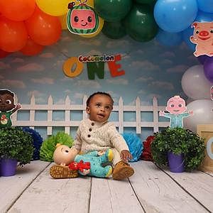 Kairo's 1st Birthday Photoshoot
