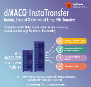 dMACQ Launches InstaTransfer Feature
