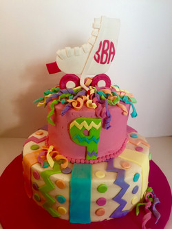 Rollerblade Birthday Cake