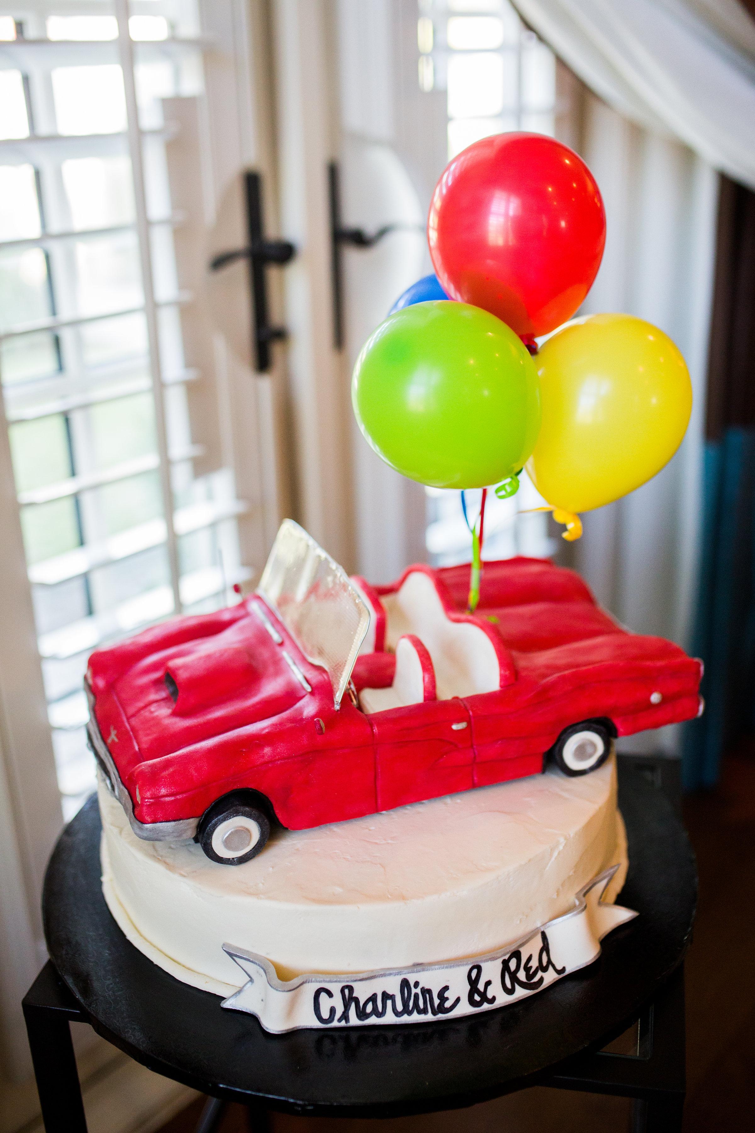 T-Bird 90th Birthday Cake