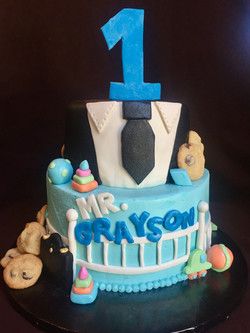 Boss Baby - Themed Birthday Cake