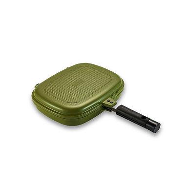 Happycall Double Pan 2.0 (Detachable) Jumbo Grill - Sand Olive