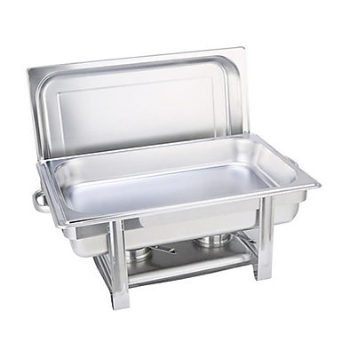 SOGA Single Tray 9L Stainless Steel Chafing Catering Dish Food Warmer
