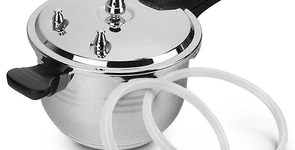 Benser 3L Commercial Grade Stainless Steel Pressure Cooker With Seal