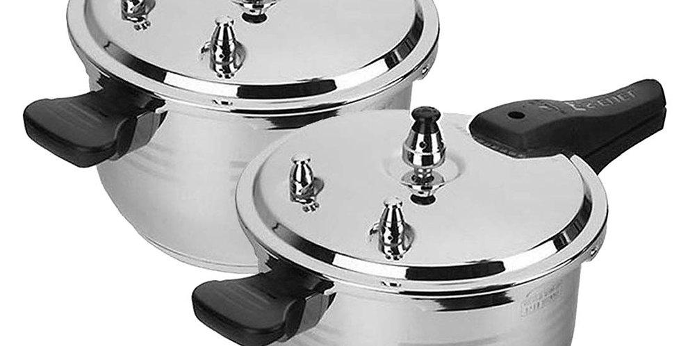 Benser 2X 8L Commercial Grade Stainless Steel Pressure Cooker