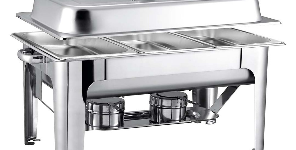 SOGA 9L Stainless Steel 3 Pans Bain-marie Chafing Catering Dish Buffet Food Warm