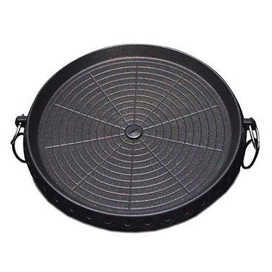 SOGA Portable Korean BBQ Butane Gas Stove Stone Grill Plate Non Stick Coated