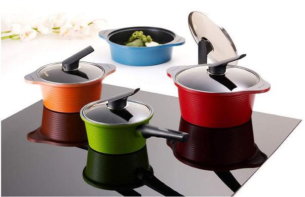 Ceramic pans set