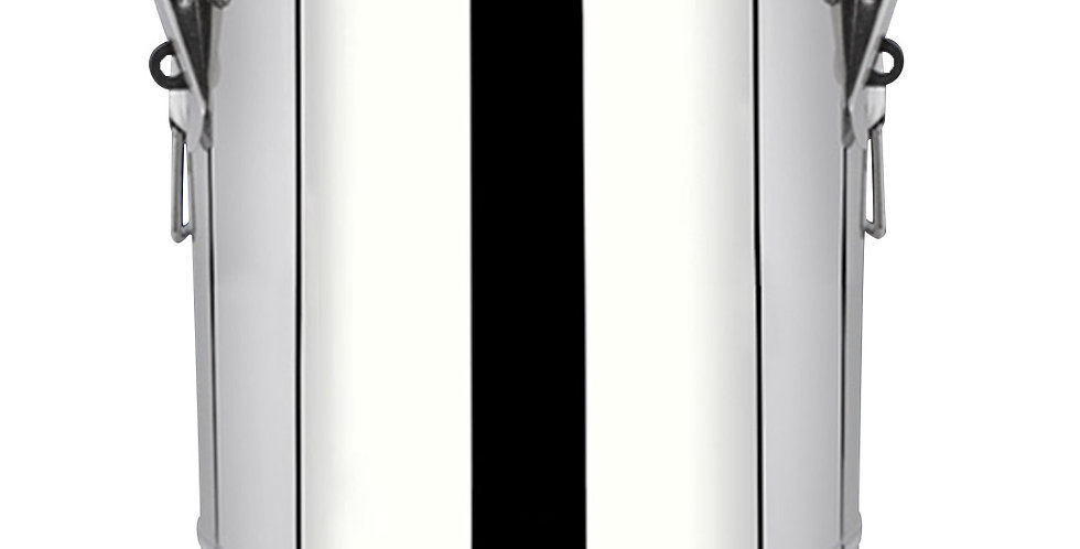 SOGA 35L Stainless Steel Insulated Stock Pot Dispenser Hot & Cold Beverage