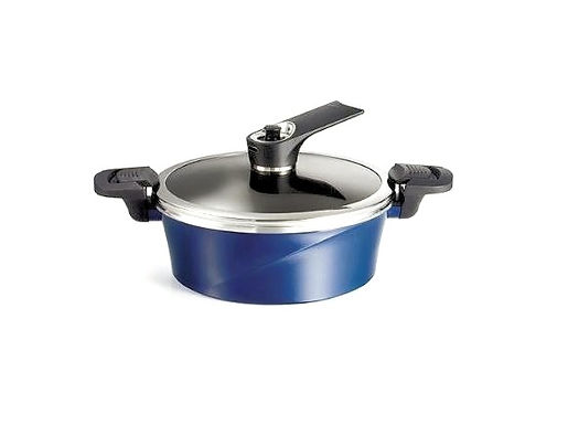 Happycall IH Vacuum Pot and Casserole Cookware 24cm low (3.1L)