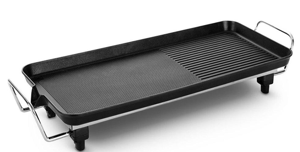 SOGA 48cm Electric BBQ Grill Teppanyaki Tough Non-stick Surface Hot Plate