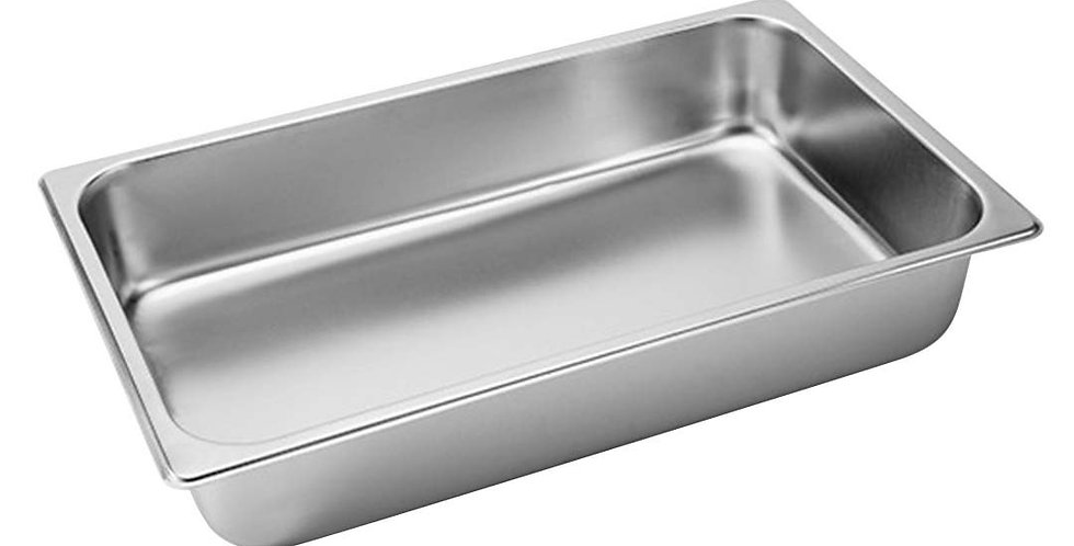 SOGA Gastronorm GN Pan Full Size 1/1 GN Pan 10cm Deep Stainless Steel Tray